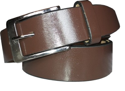 Bon Marche Men Formal Brown Genuine Leather Belt