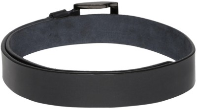 Roadster Men Black Genuine Leather Belt