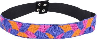 Uptown Laila Women Party Multicolor Synthetic Belt