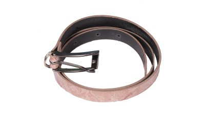 D Jindals Women Casual Pink Synthetic Belt