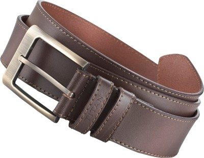 Titan Men Brown Genuine Leather Belt