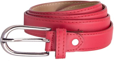 Chaklu Paklu Girls Red Artificial Leather Belt