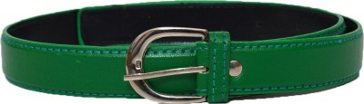 Gen Boys, Girls Casual Green Artificial Leather Belt