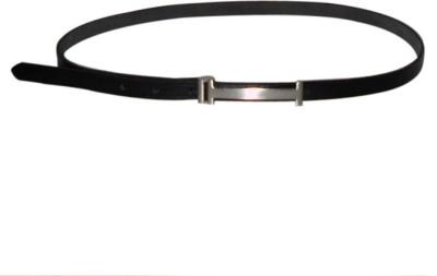 Navie Women Casual Black Genuine Leather Belt