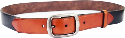 ABHINAVS Men Casual, Party Black, Multicolor Genuine Leather Belt