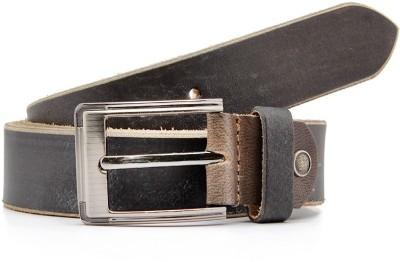 Junckers Men, Boys Formal, Casual, Party, Evening Black Genuine Leather Belt