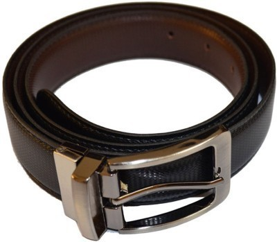 Ruchiworld Boys, Men Brown Genuine Leather Belt