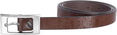 palito Girls, Women Brown Genuine Leather Belt