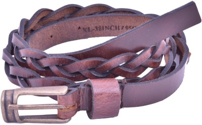 Bonafide Leathers Women Brown Genuine Leather Belt
