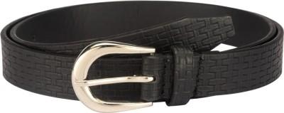 Orkee Girls, Women Formal Black Artificial Leather Belt