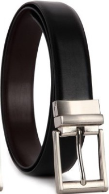 lara Men Brown Genuine Leather Belt