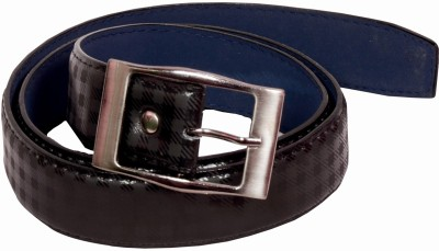D Jindals Men, Boys Casual Black Artificial Leather Belt