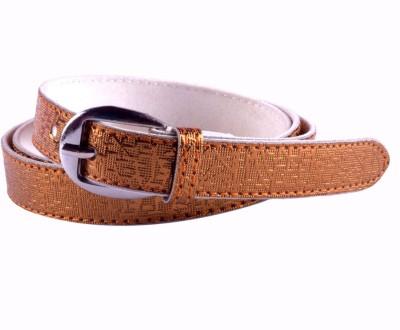 Modishera Women, Girls Casual, Party Gold Artificial Leather Belt
