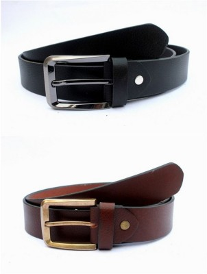 Ocean Enterprises Boys, Men Formal, Casual, Party, Formal Black, Maroon, Multicolor Genuine Leather Belt