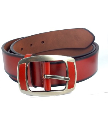 Ammvi Creations Men Casual Brown Synthetic Belt