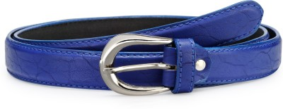 Arum Women Blue Genuine Leather Belt