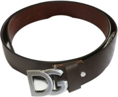Smartszone Men Black Genuine Leather Belt