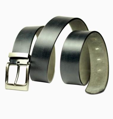 99Cells Men, Women Casual Black Genuine Leather Belt