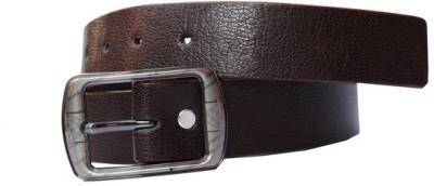Bacchus Men Formal Brown Artificial Leather Belt
