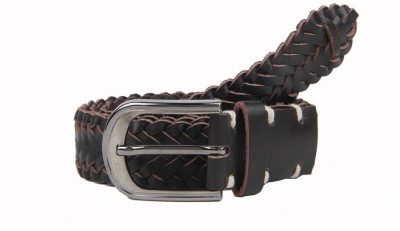 Aditi Wasan Men Casual Brown Genuine Leather Belt