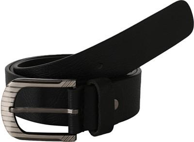 Dswiss Men Formal Black Genuine Leather Belt