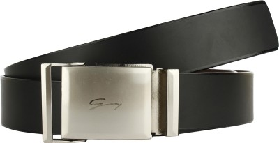 DnS Boys, Men Casual, Party, Formal Black Artificial Leather Belt