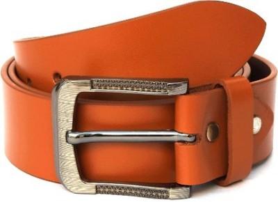 Ktux Men Tan Genuine Leather Belt