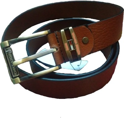 Sahara Boys, Men Tan Genuine Leather Belt