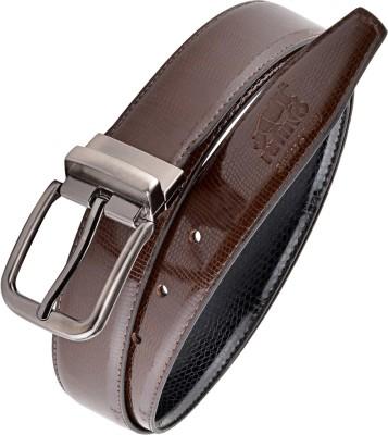 Rhino Men Brown Artificial Leather Reversible Belt
