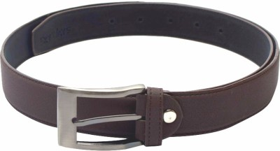 SkyWays Men Casual Brown Artificial Leather Belt