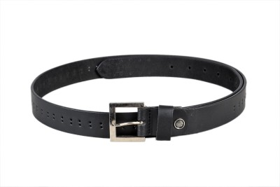 Ligans Ny Men Casual Black Genuine Leather Belt