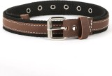 Bluth Women Casual Black Canvas Belt