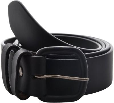 Fashno Men Casual Black Artificial Leather Belt