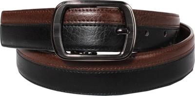 Lenin Men Evening Brown Genuine Leather Belt