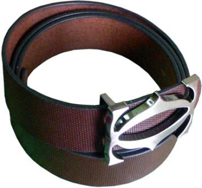 ALEXISE Men Casual Brown Genuine Leather Belt