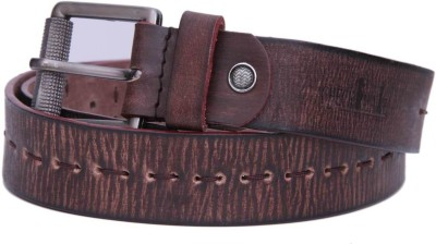 Checkmate Men Casual Brown Genuine Leather Belt