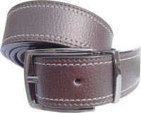 Wholesome Belt Men Semi-formal Brown Synthetic Belt
