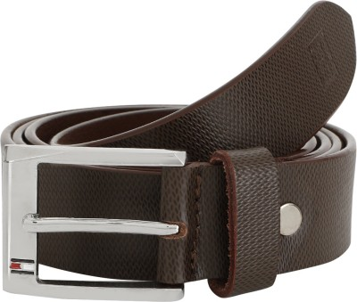 Usha Retail Men Casual, Formal Brown Genuine Leather Belt