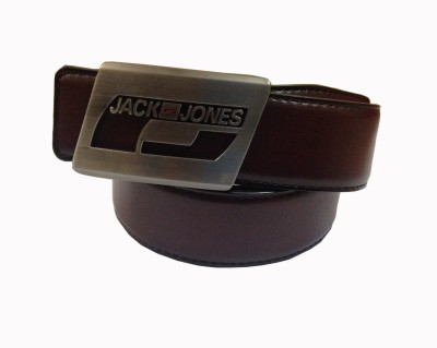 MSELACTOS Boys Casual, Party, Formal, Evening Brown Artificial Leather Belt