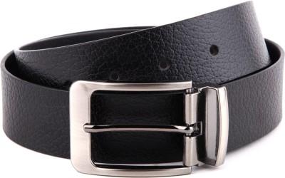 WildHide Men Formal Black Genuine Leather Belt