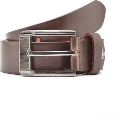 Junckers Men, Boys Formal Brown Genuine Leather Belt