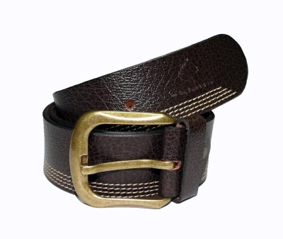 Cavallo Men Casual, Evening, Party Tan, Brown Genuine Leather Belt