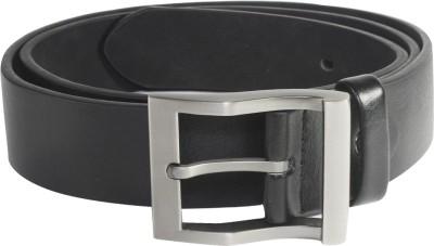 Ladecor Men Formal Black Artificial Leather Belt