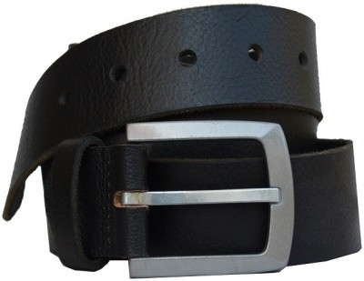 Vickiana Quest Men Casual Black Genuine Leather Belt
