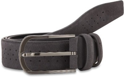 Turtle Men Formal Grey Genuine Leather Belt
