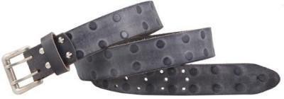 Kangoo Men Casual Black Genuine Leather Belt