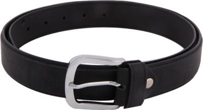 SkyWays Men Casual Black Artificial Leather Belt