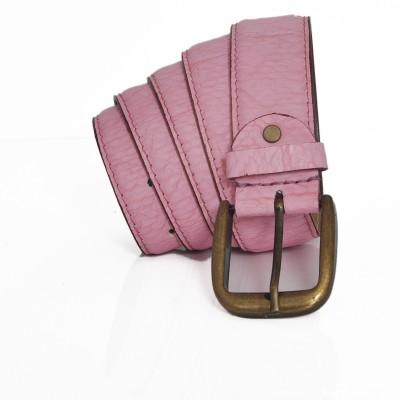 Stylox Men Casual Pink Synthetic Belt