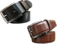 Winsome Deal Men Formal, Casual Black, Brown Artificial Leather Belt best price on Flipkart @ Rs. 899