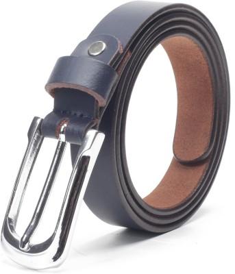 Chisel Women Casual Blue Genuine Leather Belt